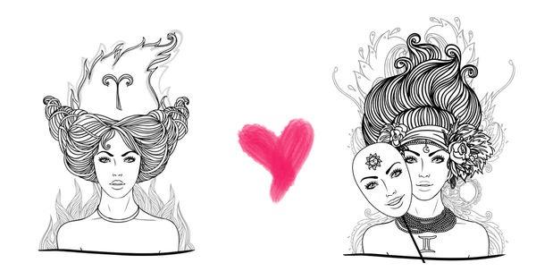 Song Tử và Bạch Dương được xem là cặp đôi hoàn hảo trong 12 cung hoàng đạo.