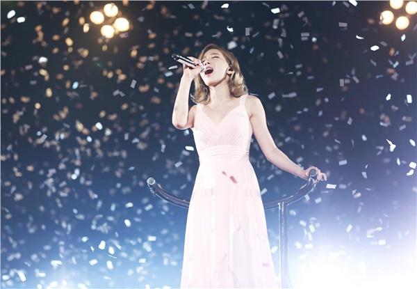 Bỗng có một ngày, Eunji (Apink) bất ngờ được khen hát hay hơn đàn chị Taeyeon 0