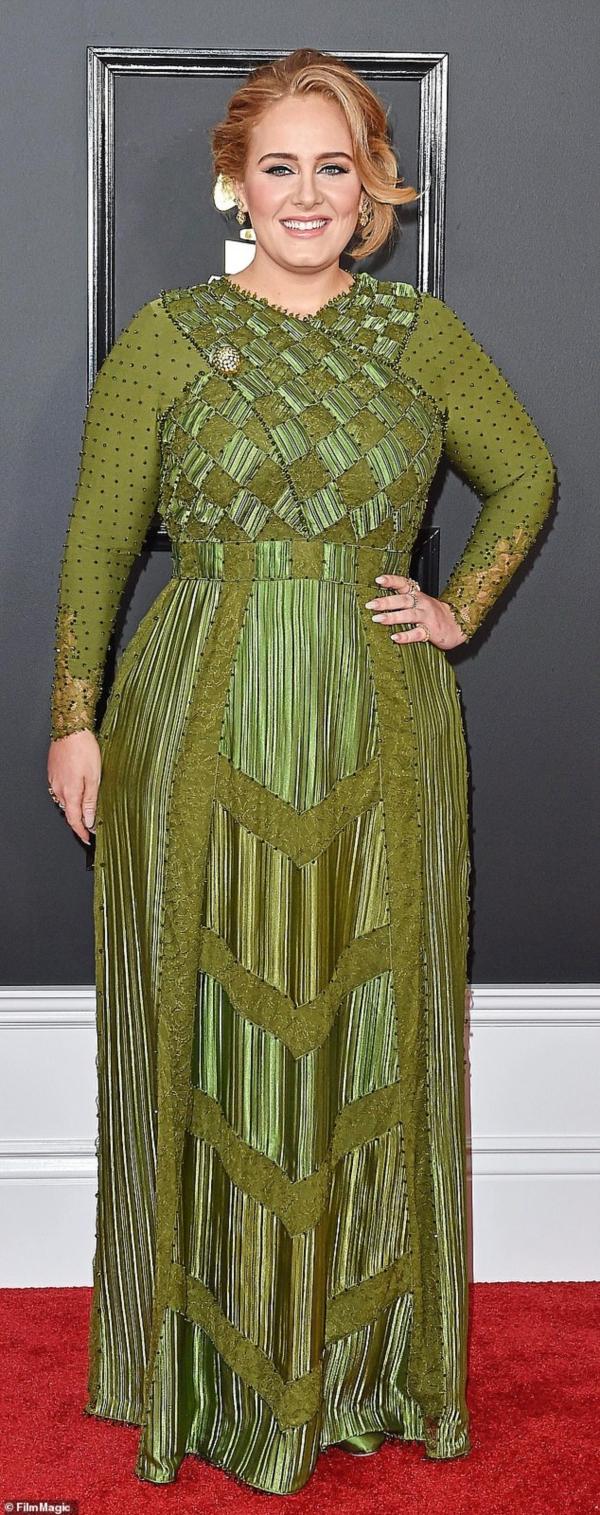 Adele vinh dự có tên trong danh sách thành viên mới.