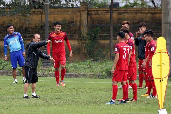 HLV Park Hang-seo đang lên phương án tốt nhất dành cho đội U23 Việt Nam.