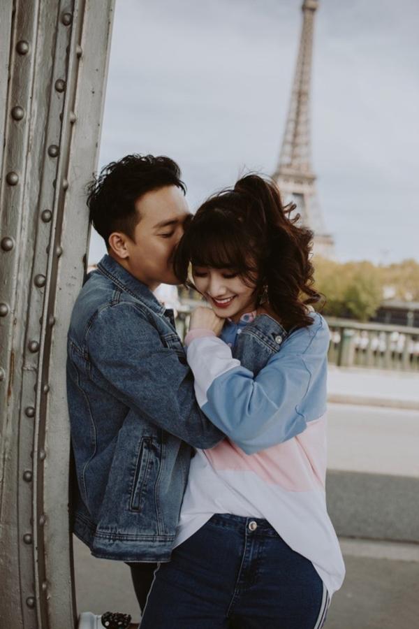 Bộ ảnh đậm chất 'Chuyện tình Paris' của Trấn Thành - Hari Won khiến ai cũng 'hạnh phúc lây' 7