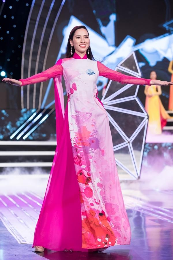 Dàn thí sinh Miss World Việt Nam khu vực phía Bắc khoe nhan sắc nổi bật trong phần thi áo dài 7