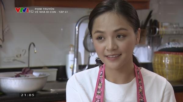 Huệ cười nói về những đự định của mình. Cô cho biết mình đang có ý định mở một cửa hàng bánh handmade