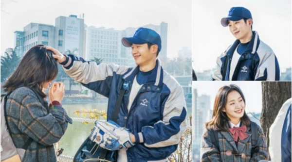 Jung Hae In từng đóng vai tình đầu của Kim Go Eun trong Goblin nên có thể tin tưởng vào phản ứng hóa học của họ