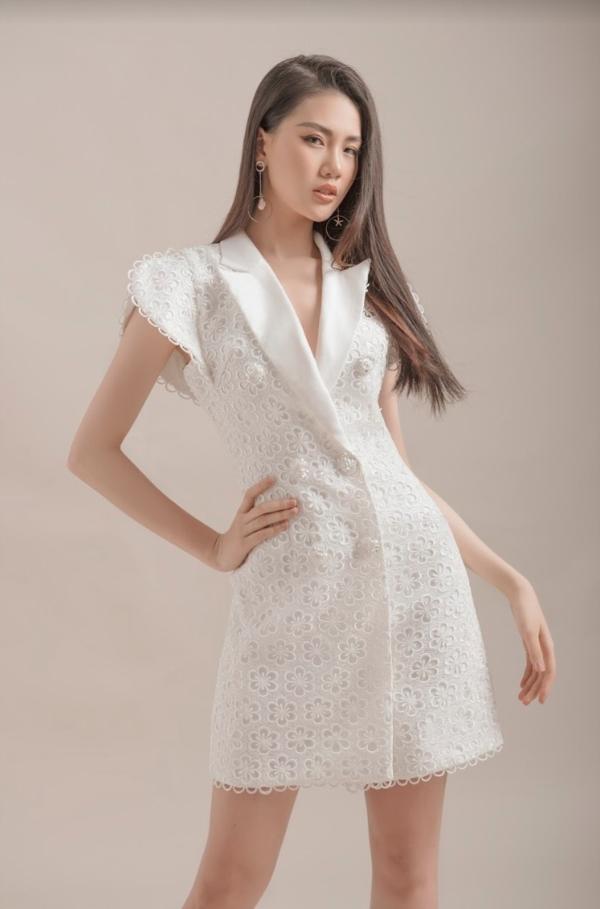 NTK Đỗ Long và chân dài Quỳnh Hoa đã có sự kết hợp ăn ý trong bộ ảnh mới.