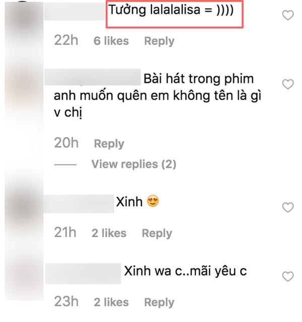 Ngay khi những hình ảnh về màutóc mới của Nam Em được đăng tải, netizen đã nhận xét rằng ngoài nhan sắc lên hương thì trông Nam Emcòn khá giống Lisa (Blackn Pink).