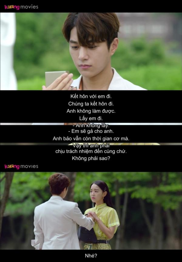 Yeon Seo luôn là người chủ động, kể cả việc cầu hôn