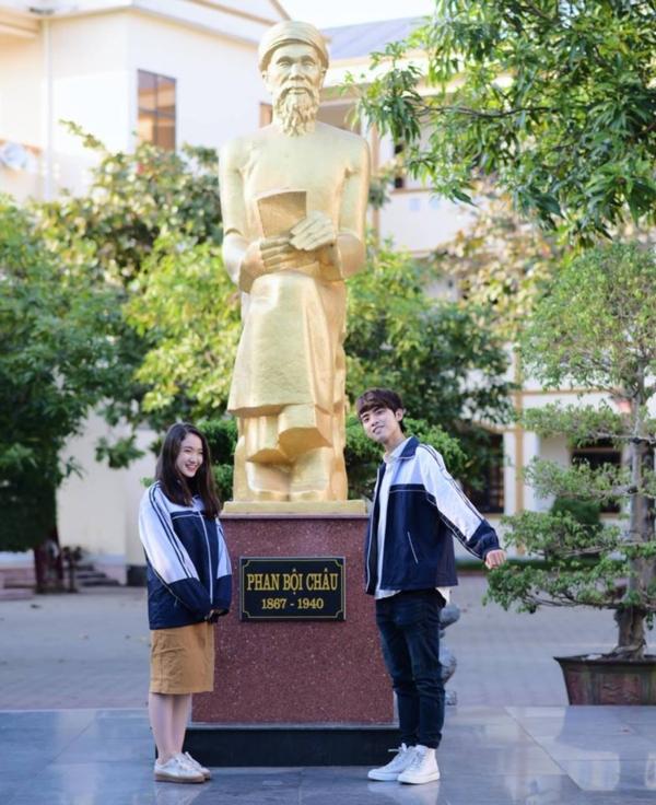 Ngôi trường nhiều thành tích quốc tế nhất Nghệ An