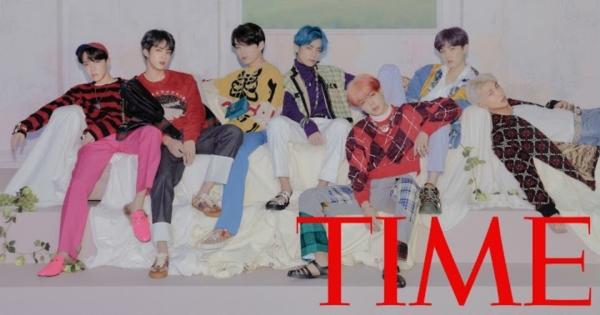 BTS tiếp tục được tạp chí TIME vinh danh.