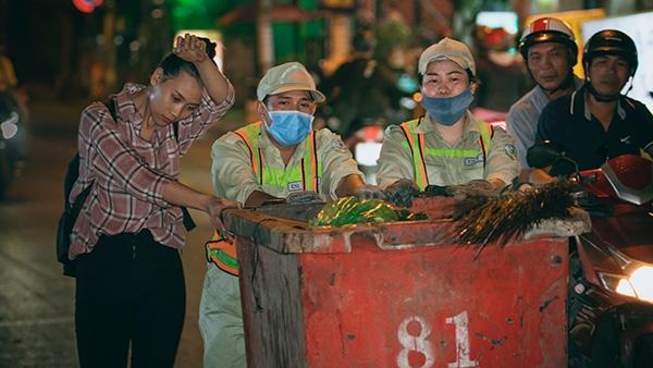 Thí sinh Miss World Việt Nam chui cống, mặt lấm lem, làm công nhân vệ sinh 3