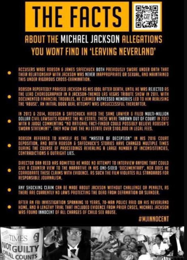 Những sự thật mà phim tài liệuLeaving Neverland 'không thèm' đưa ra được chính người hâm mộ của ông hoàng nhạc Pop tổng hợp lại.