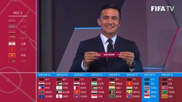 Bốc thăm Vòng loại World Cup 2022: Việt Nam gặp Thái Lan trong bảng đấu 'tử thần' 2