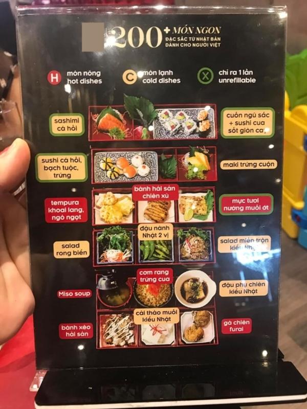 Chị M.P nghĩ mình làm đúng theo quy định màu sắc đồ ăn trong menu, nhưng sự thật thì ngược lại (?!?)