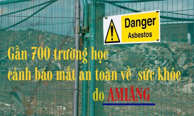 Amiăng sẽ chỉ gây nguy hiểm nếu các công trình bị phá dỡ (ảnh: The Guardian)