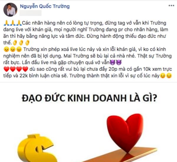 Trương Thế Vinh, Quốc Trường và loạt sao Việt phản ứng thế nào khi bị lợi dụng hình ảnh cho mục đích thương mại 5