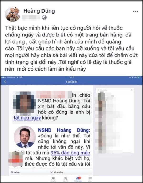 Trương Thế Vinh, Quốc Trường và loạt sao Việt phản ứng thế nào khi bị lợi dụng hình ảnh cho mục đích thương mại 8