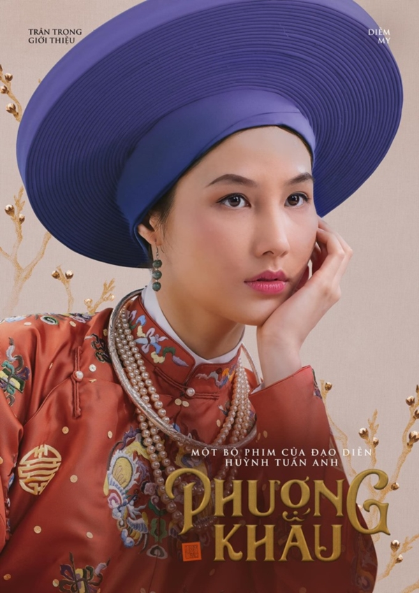 Tạo hình của Diễm My trong phim.