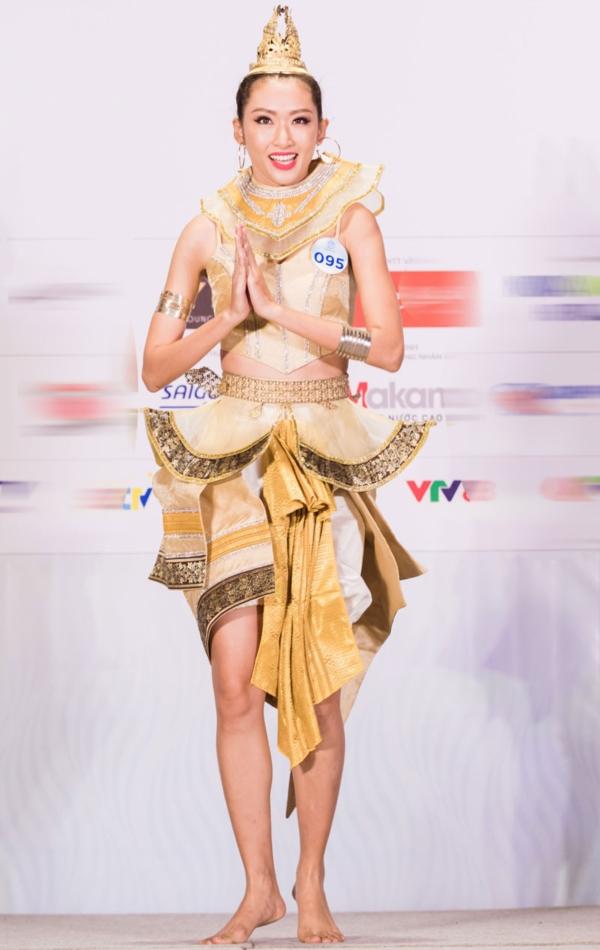 Ấn tượng với phần thi tài năng của các thí sinh Miss World Việt Nam 4