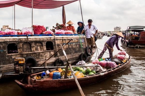 Chợ nổi - món 'đặc sản' không thể thiếu ở vùng ĐB sông Cửu Long