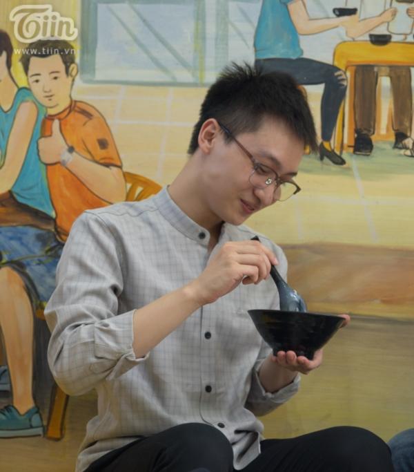 La cà chén: Du học sinh Ấn Độ lần đầu thưởng thức Chè Sầu Đà Nẵng giữa lòng Thủ đô 5
