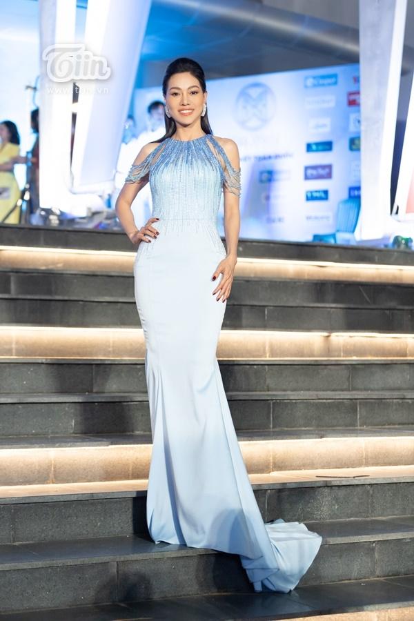 BàPhạm Thị Kim Dung - Trưởng BTC cuộc thiHoa hậu Thế giới Việt Nam 2019