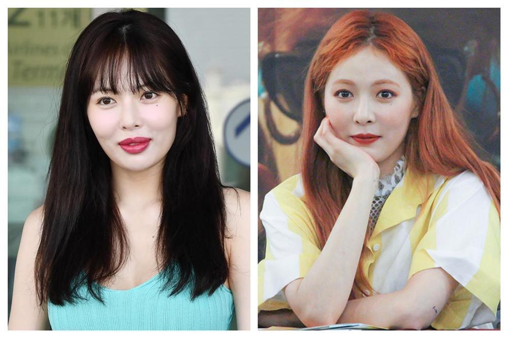 So sánh với những bức hình trước đây của HyunA thì có thể thấy được sự khác biệt rõ ràng này