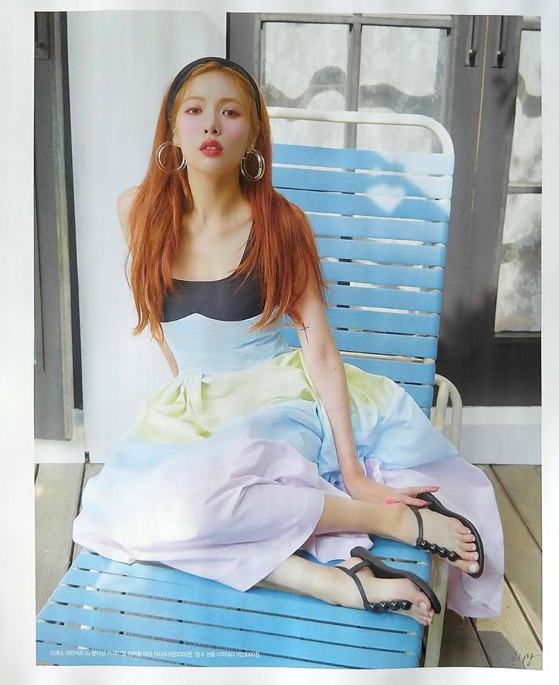 HyunA khoe mặt mộc, fan suýt không nhận ra thần tượng vì khuôn mặt khác lạ, già nua 3