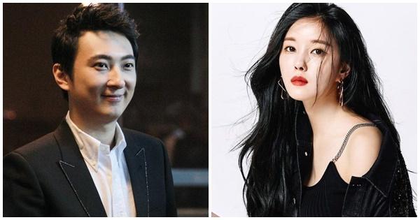 Hyomin và Vương Tư Thông dính tin đồn hẹn hò hồi đầu năm ngoái.