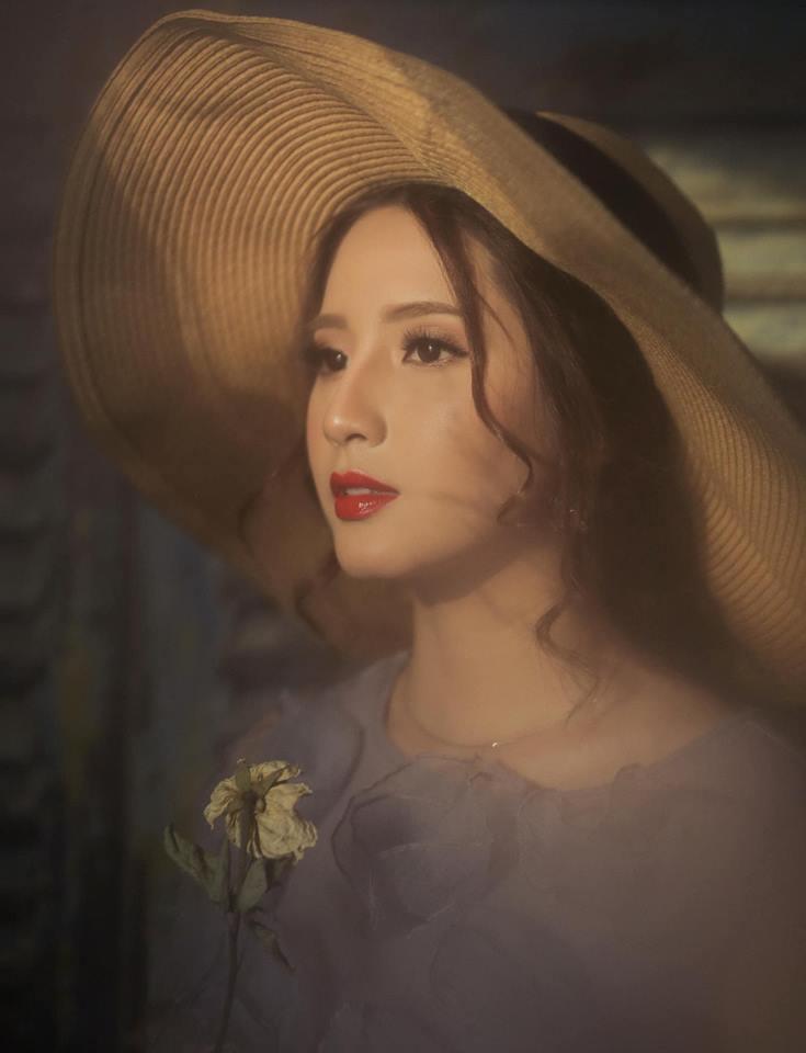 Cận cảnh khuôn mặt xinh đẹp của Thiên An - Nữ chính 'Sóng Gió'