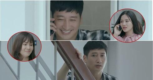 Ngay từ tập 1 của bộ phim, Thái đã hiện nguyên hình kẻ Sở Khanh của mình khi 'bắt cá 2 tay' cùng lúc làm 2 người phụ nữ có bầu