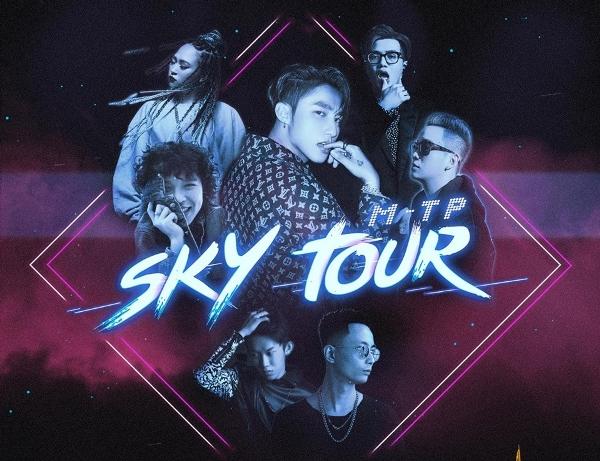 Onionn xuất hiện trên tấm poster 'Sky Tour 2019'.