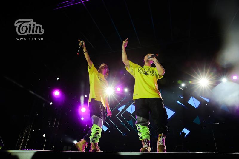 Huỳnh James và Pjnboys 'quẩy' hết mình trên sân khấu 'Tự Dưng Show 2019' 3