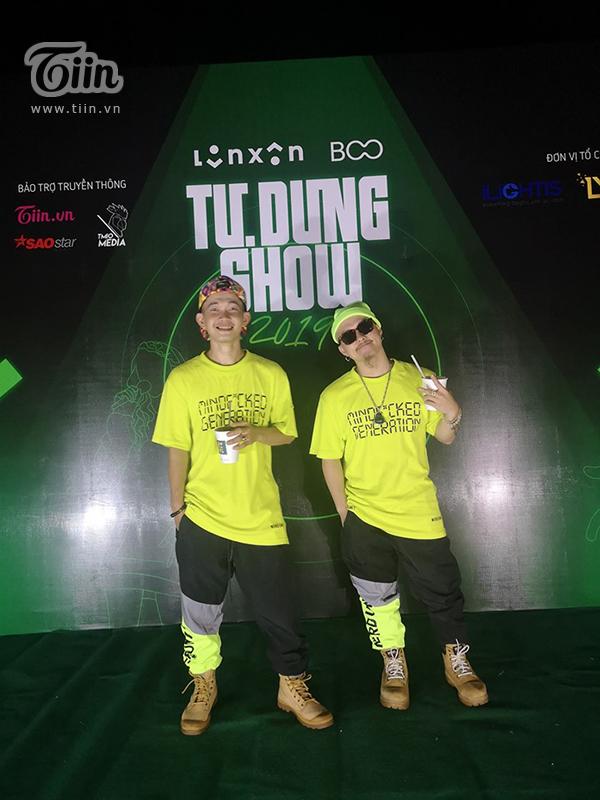 Một số hình ảnh của bộ đôi Huỳnh James và Pjnboys tại 'Tự Dưng Show 2019'