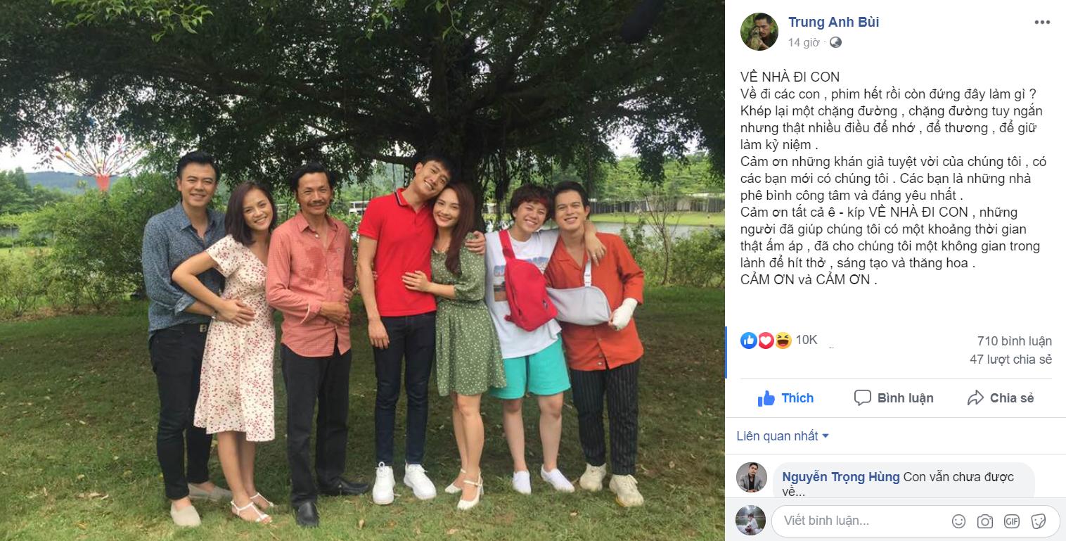 NSƯT Trung Anh tiếtlộ lý do vì sao ông Sơn và cô Hạnh không đến với nhau, 'Về nhà đi con' sẽ có phần 2? 1