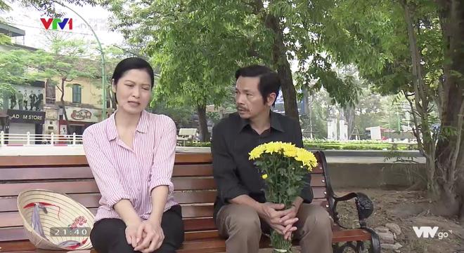 Ông Sơn và cô Hạnh trong phim.