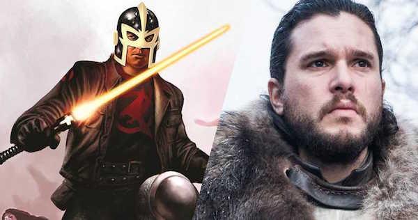 Kit Harington sẽ thủ vai Dane Whitman hay còn biết tới với tên gọi The Black Knight.