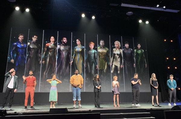 Dàn diễn viên Eternals ra mắt khán giả.