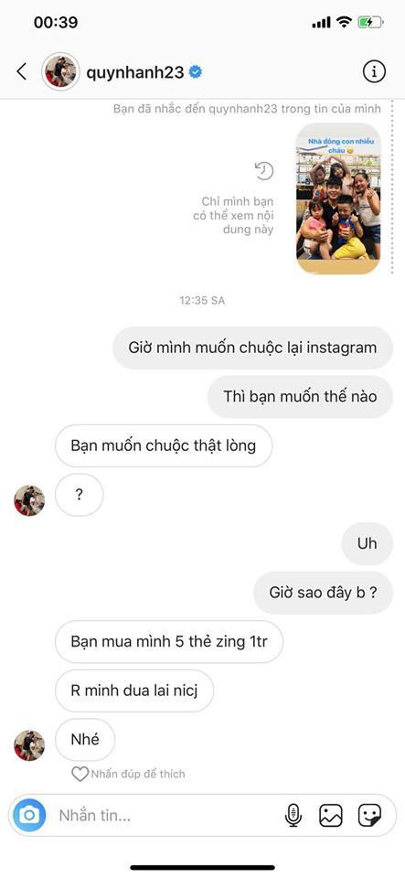 Bạn gái Duy Mạnh mất tài khoản 5 ngày, hacker lấy được món tiền lớn, nhưng thái độ cực 'gắt' của Quỳnh Anh mới đáng chú ý 3