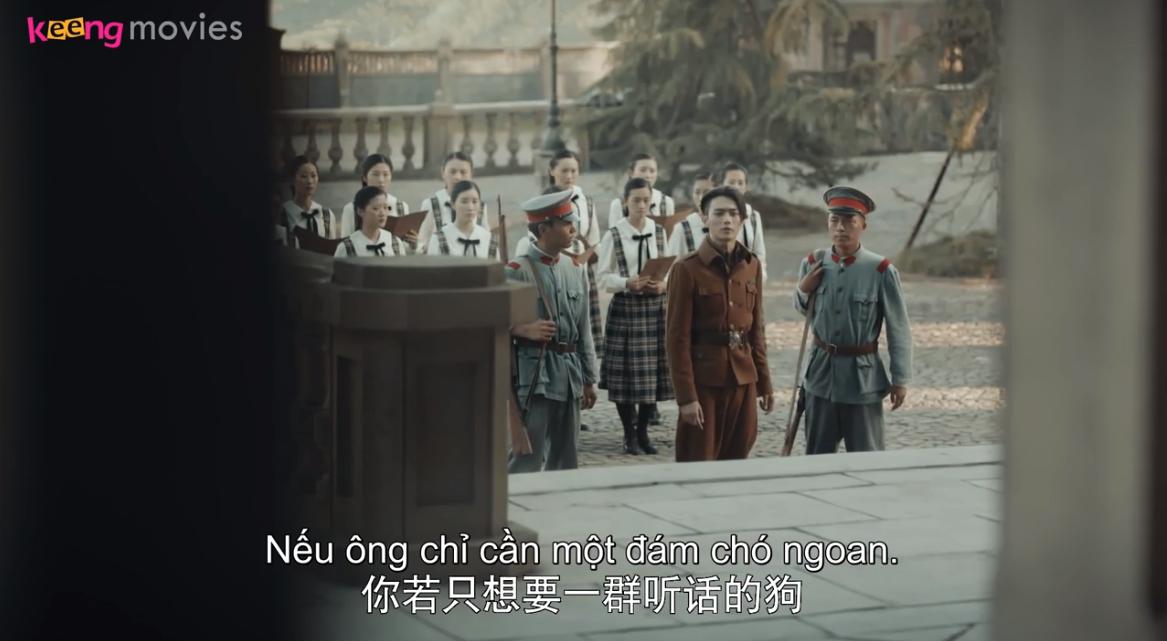 'Học viện quân sự Liệt Hỏa' tập 35-36: Cố Yến Tranh công khai 'diss' thầy giáo trước toàn trường và cái kết bất ngờ 3