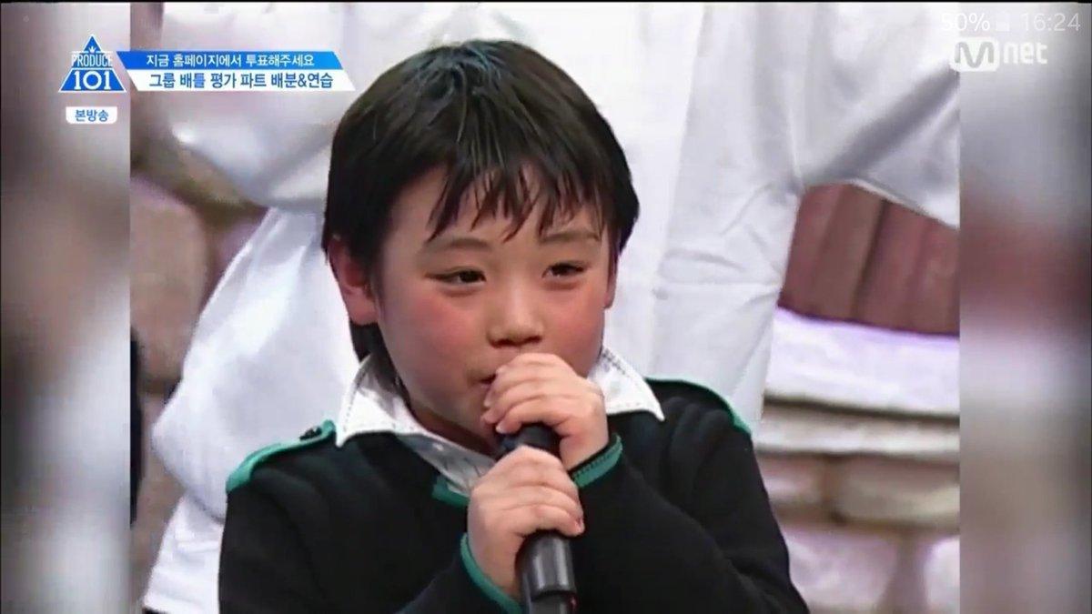 Diễn viên nhí Park Ji Hoon trên sóng truyền hình