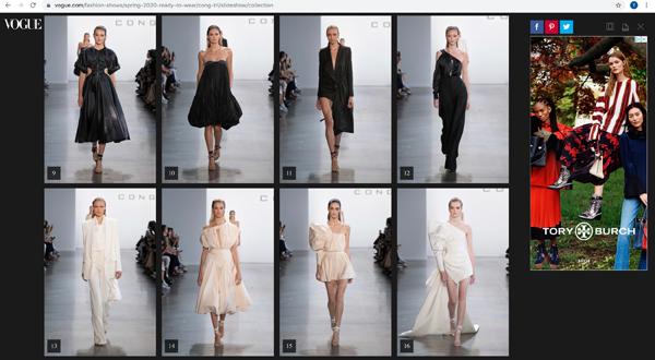 Vogue, Harper Bazaar Mỹ đồng loạt đưa tin về show diễn của NTK Công Trí 1
