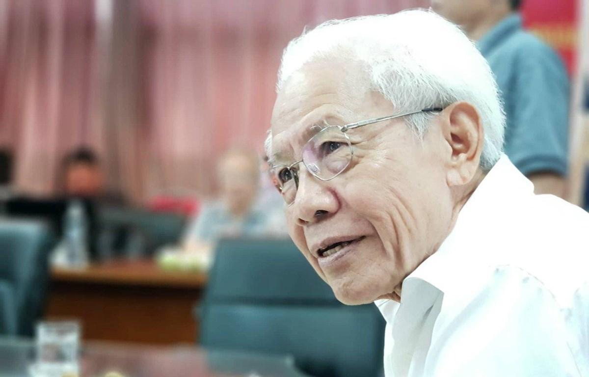 Giáo sư Hồ Ngọc Đại. (Ảnh: PV/Vietnam+)