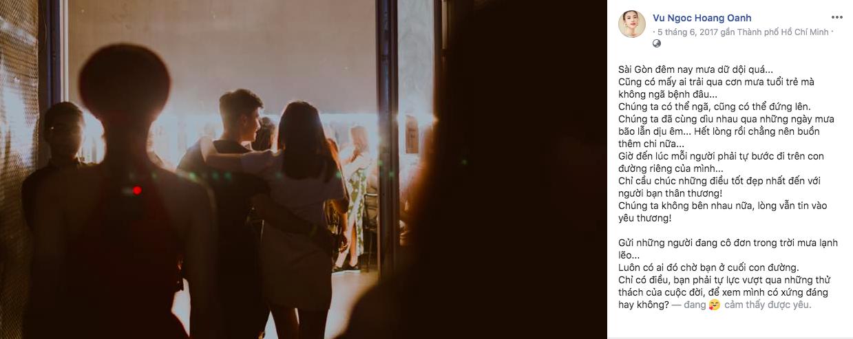 Sao Việt thông báo chia tay qua facebook khiến khán giả vừa day dứt yêu thương, vừa ngậm ngùi tiếc nuối 6