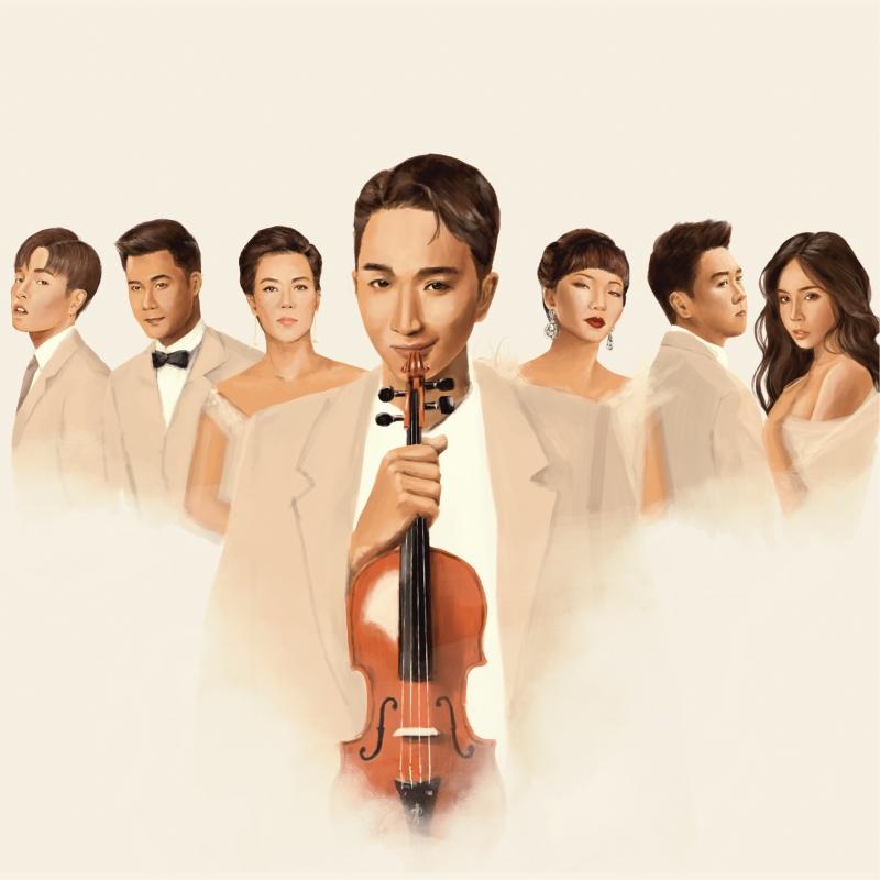 'Trò chuyện' của Hoàng Rob: Cây violin 'so giọng' với những ca sĩ tài năng 3