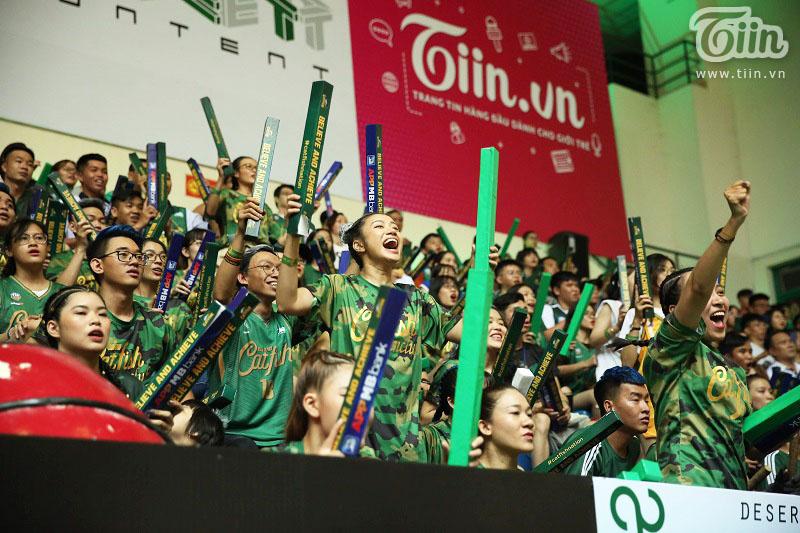 Cantho Catfish được gọi là 'đội bóng quốc dân' với số lượng người hâm mộ đông đảo và trung thành bậc nhất ở VBA.