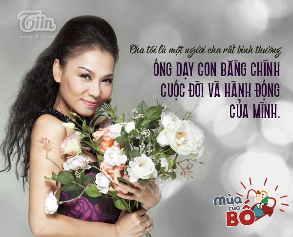Mùa của bố: Thu Minh - Cha đợi tôi trước cửa vũ trường hàng đêm... 6