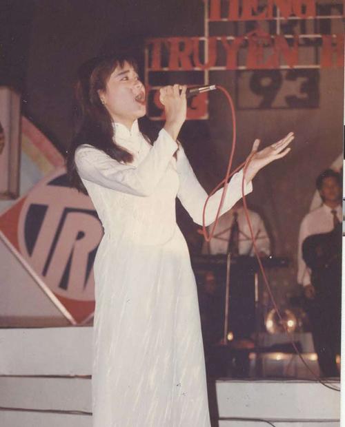 Thu Minh thời tham gia cuộc thi Tiếng hát truyền hình TP.HCM