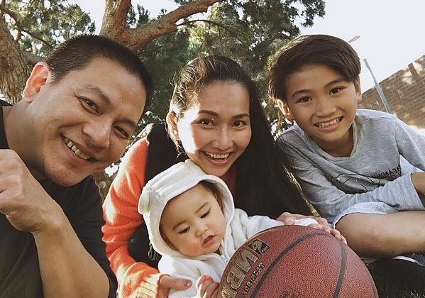 Gia đình nhỏ hạnh phúc của Kim Hiền trên đất Mỹ