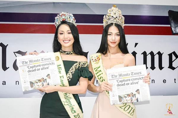Phương Khánh xuất hiện xinh đẹp trên kênh truyền hình hàng đầu của Philippines 4