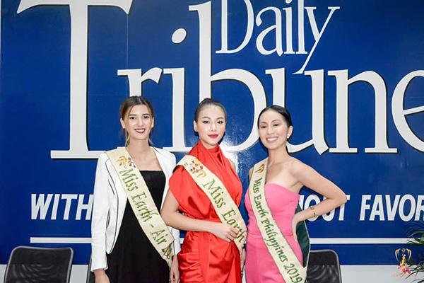 Phương Khánh xuất hiện xinh đẹp trên kênh truyền hình hàng đầu của Philippines 0
